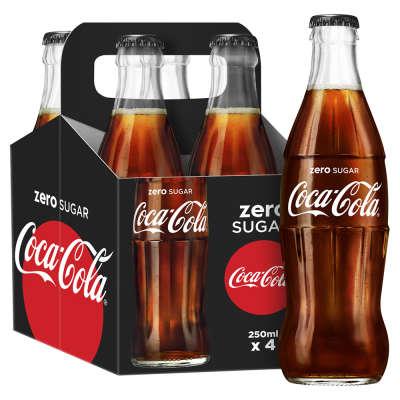Coke Zero 4x250ml pack - £1 instore at Heron Foods