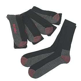 Dickies Cushion Crew Socks Black Size 7-11 [5 Pack] £6.39 + £5 Delivery @ Screwfix