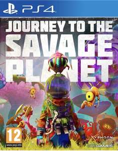 Journey to the Savage Planet (PS4) £14.99 @ PlayStation store (£12.85 with shopto ps credit CREDIT largeypool)
