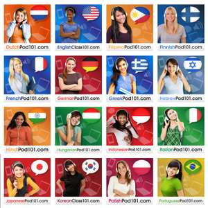 LanguagePod101 - 3-month Free Access to 34 languages (Absolute Beginners)