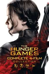 Hunger Games - 4 Movie collection in 4k - £7.99 @ iTunes