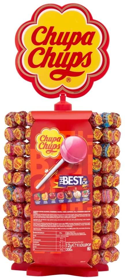 Chupa Chups Carousel 180 + 20 Lollipops £10 Amazon Prime (+£4.49 p&p non prime)