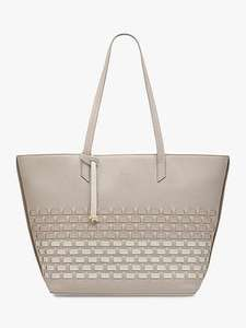 Radley Clearance - Thatched Close Shoulder Tote Bag, Dove Grey - £62 Delivered @ John Lewis & Partners