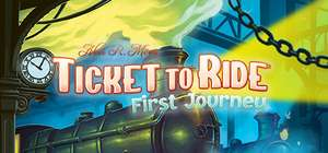 Ticket to Ride First Journey (PC Steam) Free to Keep from April 09-12 @ Steam Store