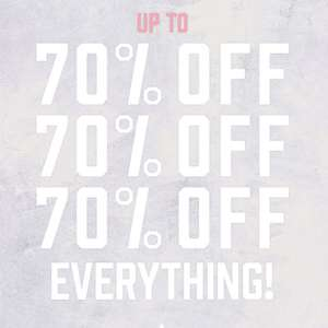 Boohoo up to 70% off on everything - Standard Delivery £4.99