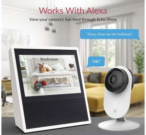 YI Home Wireless Wifi Camera works with Alexa £19.99 delivered prime with code Sold by Seeverything UK and Fulfilled by Amazon.