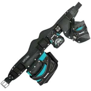 Makita Special Edition Toolbelt 2 Pouch Holster Tool Belt Set and Hammer Holder £33.99 Delivered using code @ eBay / buyaparcel