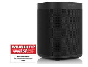 Sonos One Gen 2 (Black) Voice Activated Smart Speaker £159 - 6 year warranty £159 delivered @ Richer sounds