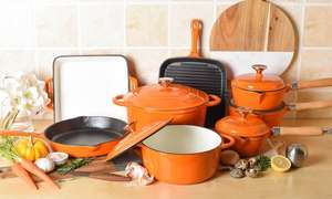 Davis and Grant 8 piece Cast Iron Cookware - £49.85 Delivered with code @ Groupon (New users)