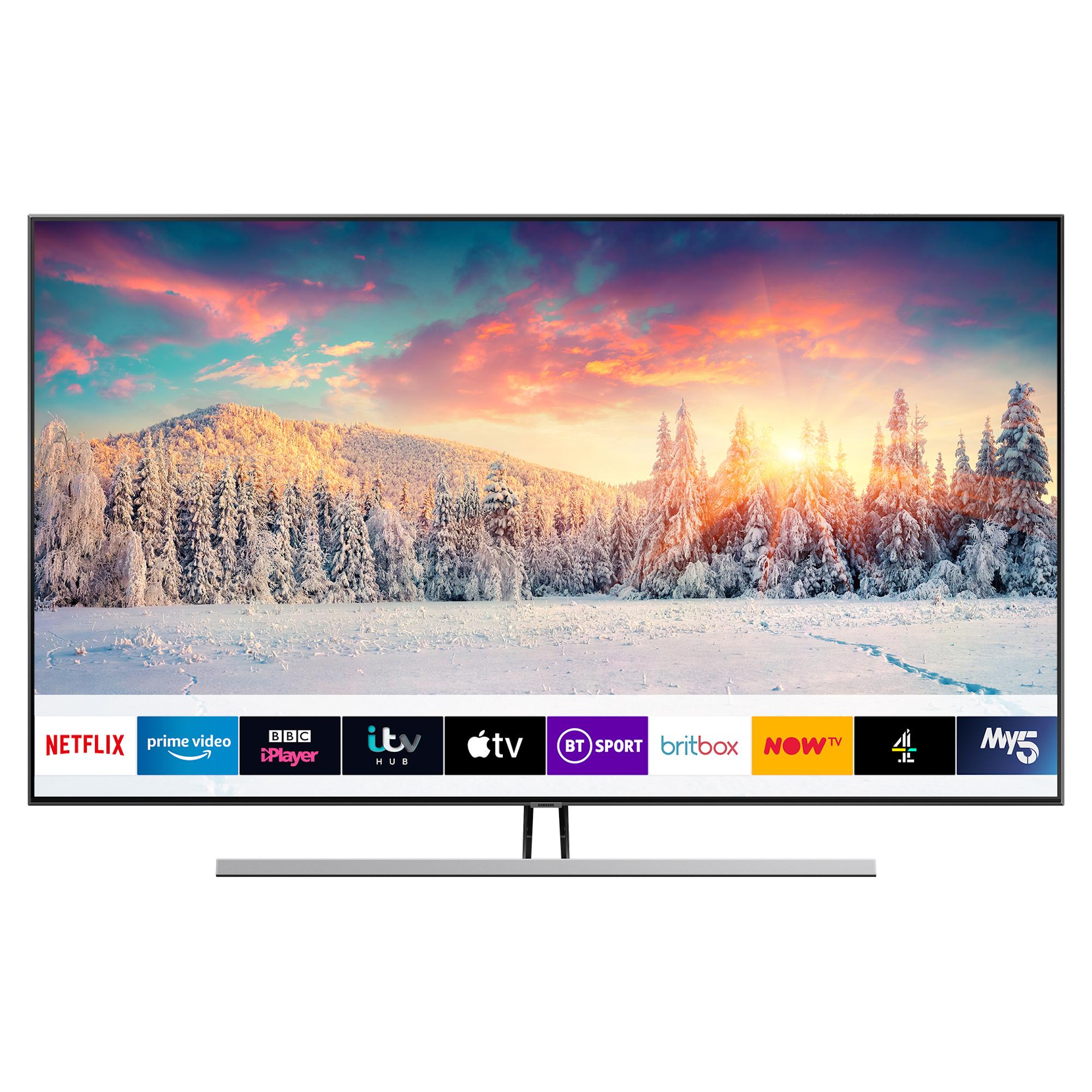 Samsung package deal - HWR450 soundbar + QE55Q85RATX Qled tv + 5 year warranty £959 @ hughes