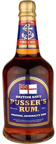 Pussers Blue Label 40 Percent Rum, 70 cl - £22.49 @ Amazon
