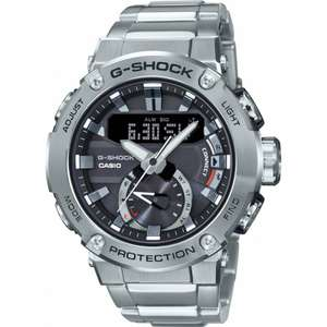 Casio G-Steel Smartwatch GST-B200B-1AER. Now only £189.99 (349rrp) Inc delivery @ Watches2U