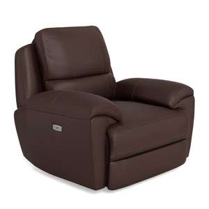 Finlay electric recliner with electric backrest adjustment - £849.99 + £19.99 delivery @ Oak Furniture Land