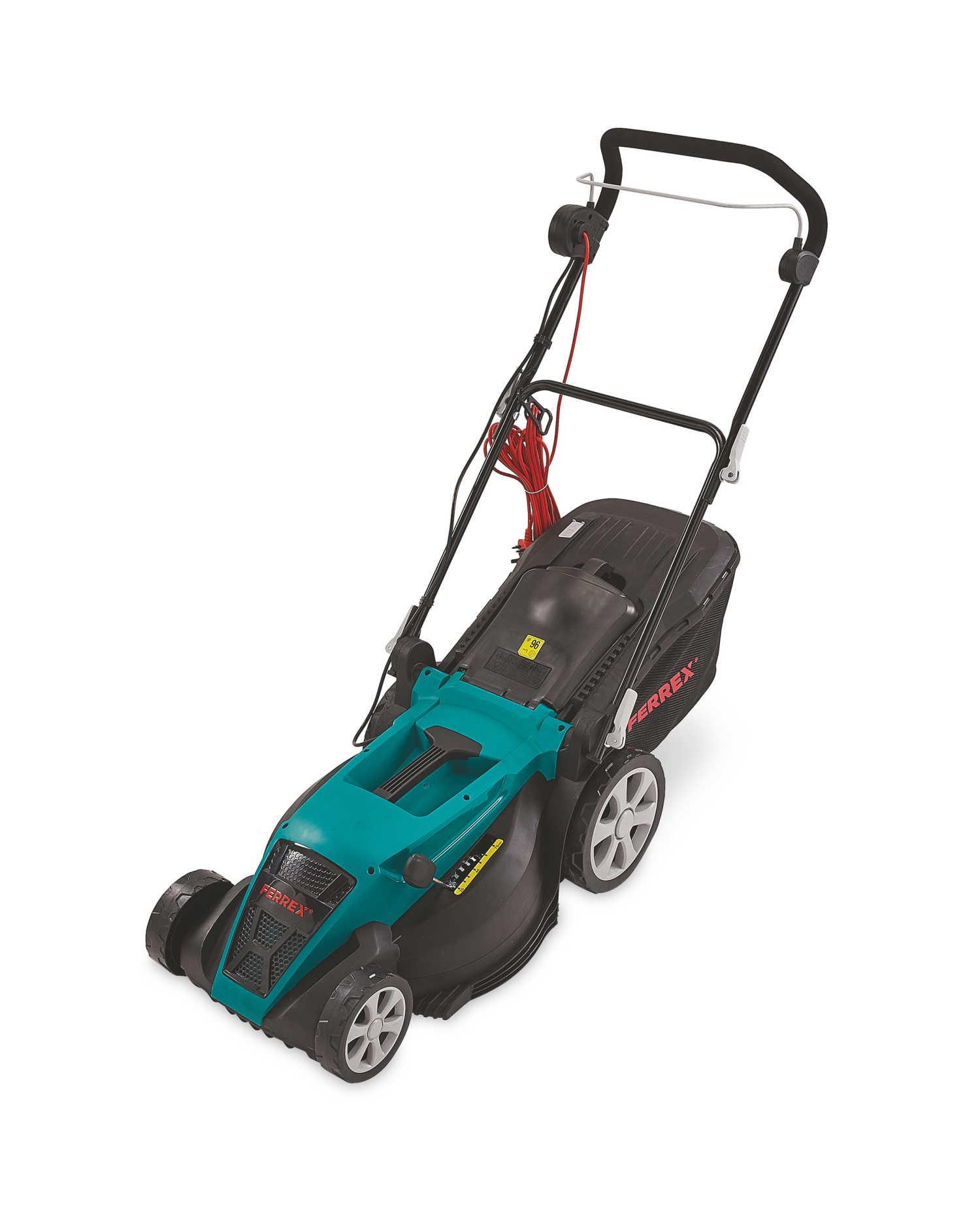 Ferrex Electric Lawnmower inc. 3 Year Warranty £79.99 delivered @ Aldi