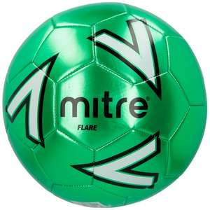 MITRE Flare II Football FREE (Size 5) - Green only @ Mitre (Worth £9)