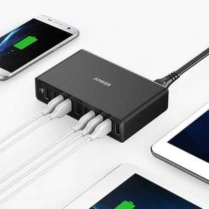 Anker 10 Port USB wall charger 60W 12A - £19.95 (possible £18.35 with Quidco) @ MyMemory