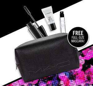 Free mascara, bag and samples with £55 spend @ Mac Cosmetics