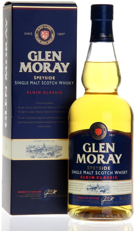 Amazon PrimeNow - Glen Moray Speyside Single Malt Scotch Whisky, 70ml £14 (£15 minimum spend)