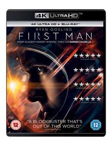 4K Ultra HD + Blu-ray +Digital Download (Schindler's List/ Darkest Hour/ First Man/ Apollo 13 +more) £8.99 each Delivered with code @ Zoom