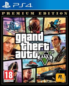 GTA V Premium Edition Ps4 Game £21.94 delivered at Argos