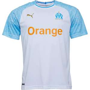Olympique Marseille Home Shirt £12.99 + £4.99 delivery at MandM Direct