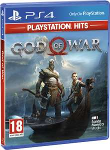 God Of War Playstation Hits (PS4) - £11.99 Prime / £13.98 Non Prime @ Amazon UK