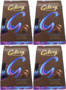Galaxy Truffles Chocolate Medium Gift Box, 206 g (Pack of 4) for £3.50 (Prime) / £7.99 (Non Prime) delivered @ Amazon