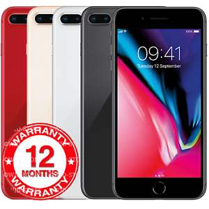 Refurbished Apple iPhone 8 Plus - 64GB 256GB - Unlocked Smartphone Various Colours Grades (Grade B Good) £237.95 at ebay wjd-store