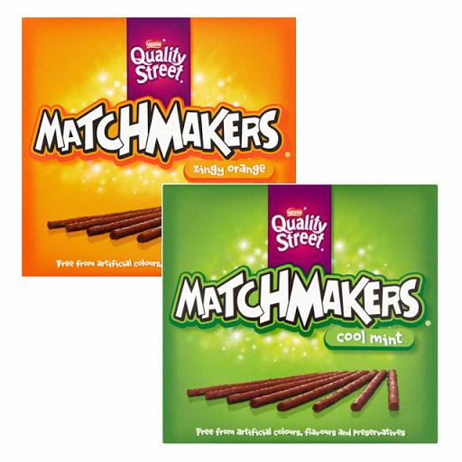 Quality Street Mint or Orange Matchmakers 120G - £1 @ Tesco