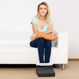 Electric Foot Warmer and Massager £12.00 with Free Delivery From Yankee Bundles