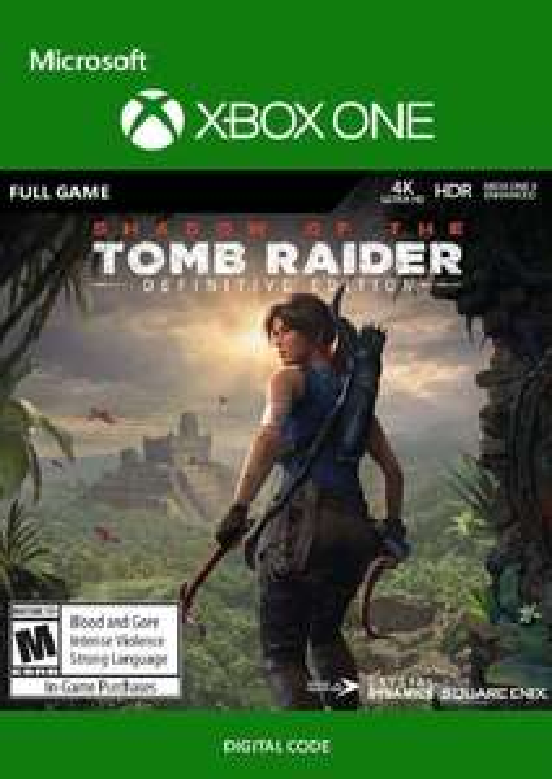 Shadow of the Tomb Raider Definitive Edition [Xbox One] - Code - £16.29 @ CDKeys