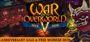 War for the Overworld (Bundle Offers Available) @ Steam - £3.44