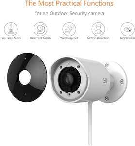 YI Outdoor IP Camera Wireless 1080P HD Home Security Camera Surveillance Camera £39.49 @ Seeverything UK and Fulfilled by Amazon