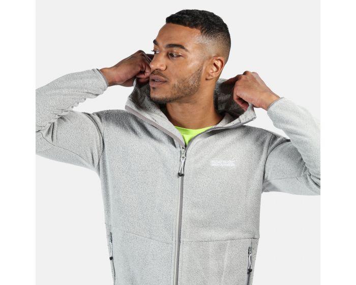 £5 off £30 Spend Regatta Men's Madagascar Full Zip Heavyweight Hooded Fleece - Light Steel £27.49/ £30.44 Delivered w/code From Hawkshead