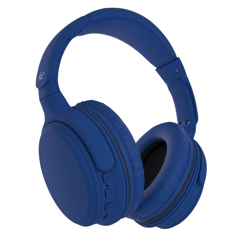 Kitsound Slammers Wireless Bluetooth Headphones - Blue, £12.99 at Yoltso/ebay