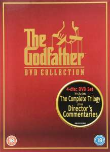 The Godfather Trilogy DVD Collection - 4 Disc Box Set - £5.39 Delivered @ Zoom