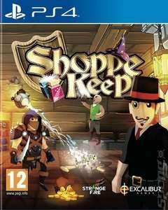 Shoppe Keep - PS4 (new) £4.29 delivered @ Music Magpie