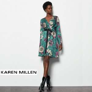 Up to 75% Off Sale + Extra 15% Off with exclusive code + Free Returns @ Karen Millen (delivery £3.99)