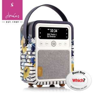 VQ Monty DAB+ Radio with Bluetooth (Joules Edition - 3 Year Warranty) £67.99 Delivered using code @ eBay / 3monkeys