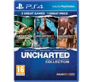 PLAYSTATION 4 Uncharted: The Nathan Drake Collection for PS4 - £10.99 delivered @ Currys PC World