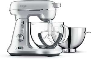 Sage BEM825BAL The Bakery Boss Stand Food Mixer with 4.7L Bowl - Silver £293.95 at Amazon