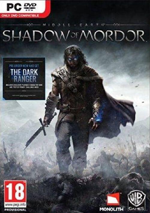 Middle-Earth: Shadow of Mordor PC Steam Key £1.49 @ CDKeys