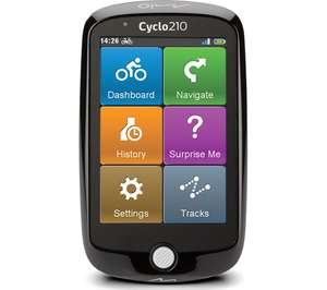 """MIO Cyclo 210 Bike 3.5"""" Sat Nav - Full Europe Maps £129 delivered at Currys PC World"""