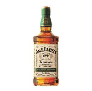 Jack Daniels Rye Whiskey 70cl 45% Now only £20 delivered at Amazon
