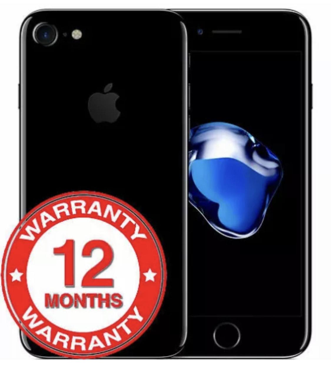 iPhone 7   32gb   Grade B - Good - £110.46 delivered using code @ wjd-store / eBay