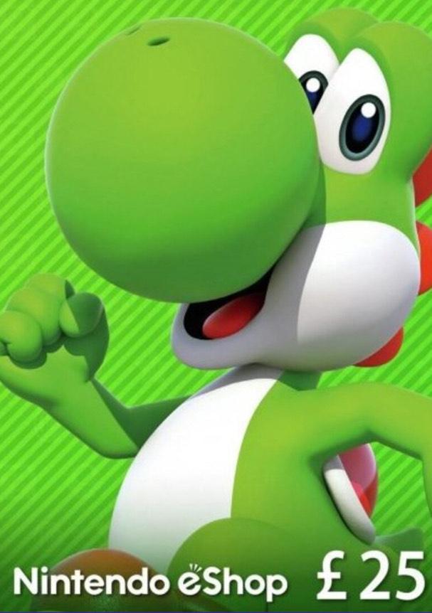 £25 Nintendo eShop Card for £23.63 @ Eneba