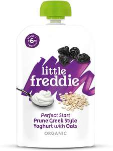 Little Freddie Greek Style Yoghurt 130g , Pack of 6 only £1.25 + £4.49 NP or £1.19 S&S - Prime @ Amazon