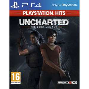 Uncharted Lost Legacy Hits for Sony PlayStation, £11 at AO