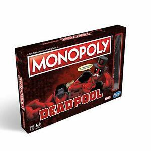 Deadpool Monopoly Board Game £18.99 delivered @ StortfordToys / Ebay