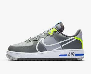 Nike Air Force 1 React Trainers now £72.99 - sizes 6 up to 11 @ Offspring